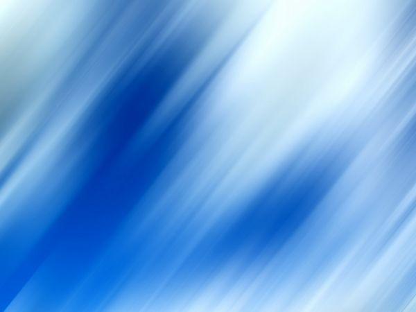 Flou bleuté