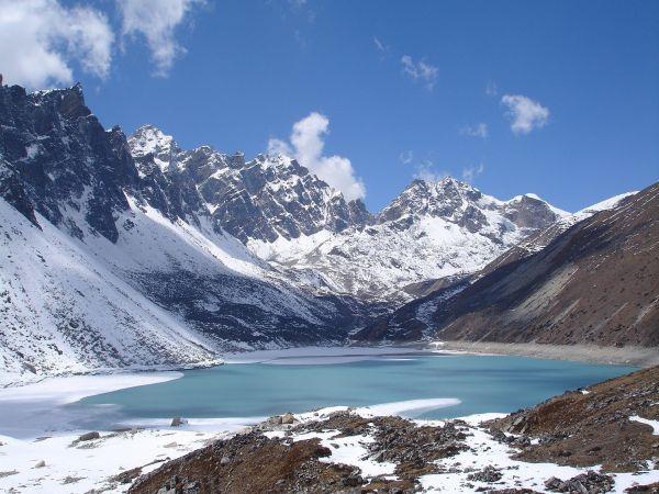 Lac et montagne enneigé - Image n° 93 - Paysages variés