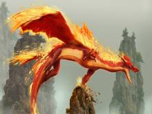 Dragon de flamme